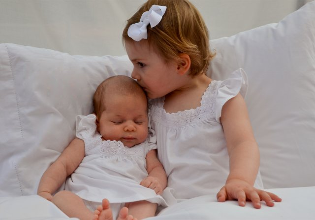 Pictures of Cousins Princesses Estelle and Leonore