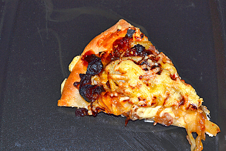 Bacon, Potato, and Caramelized Onion Pizza
